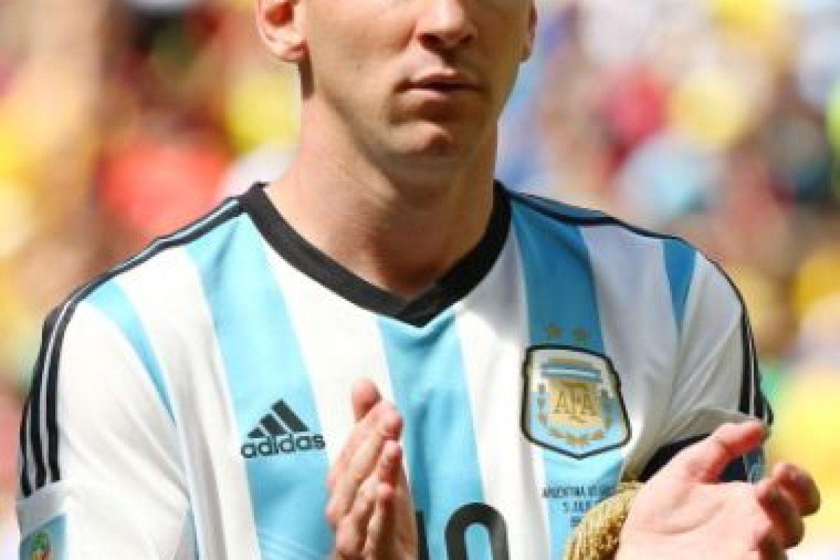 Lionel Messi. El astro argentino nació en Rosario, el 24 de junio de 1987. Tiene 28 años Foto:Getty Images