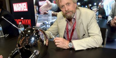 "Michael Douglas será el ""Dr. Hank Pym"" Foto:Getty Images"