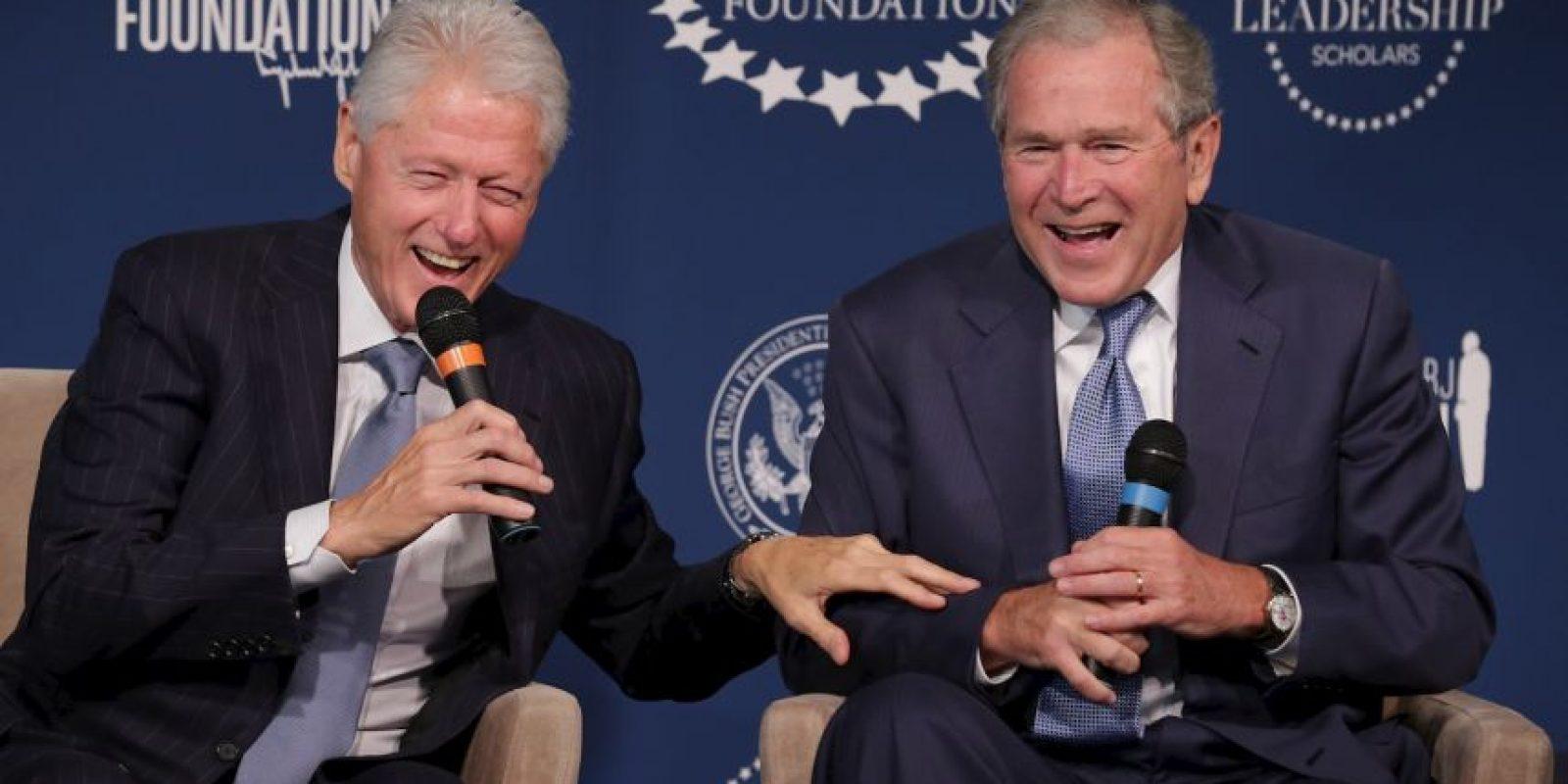 7. Bill Clinton Foto:Getty Images