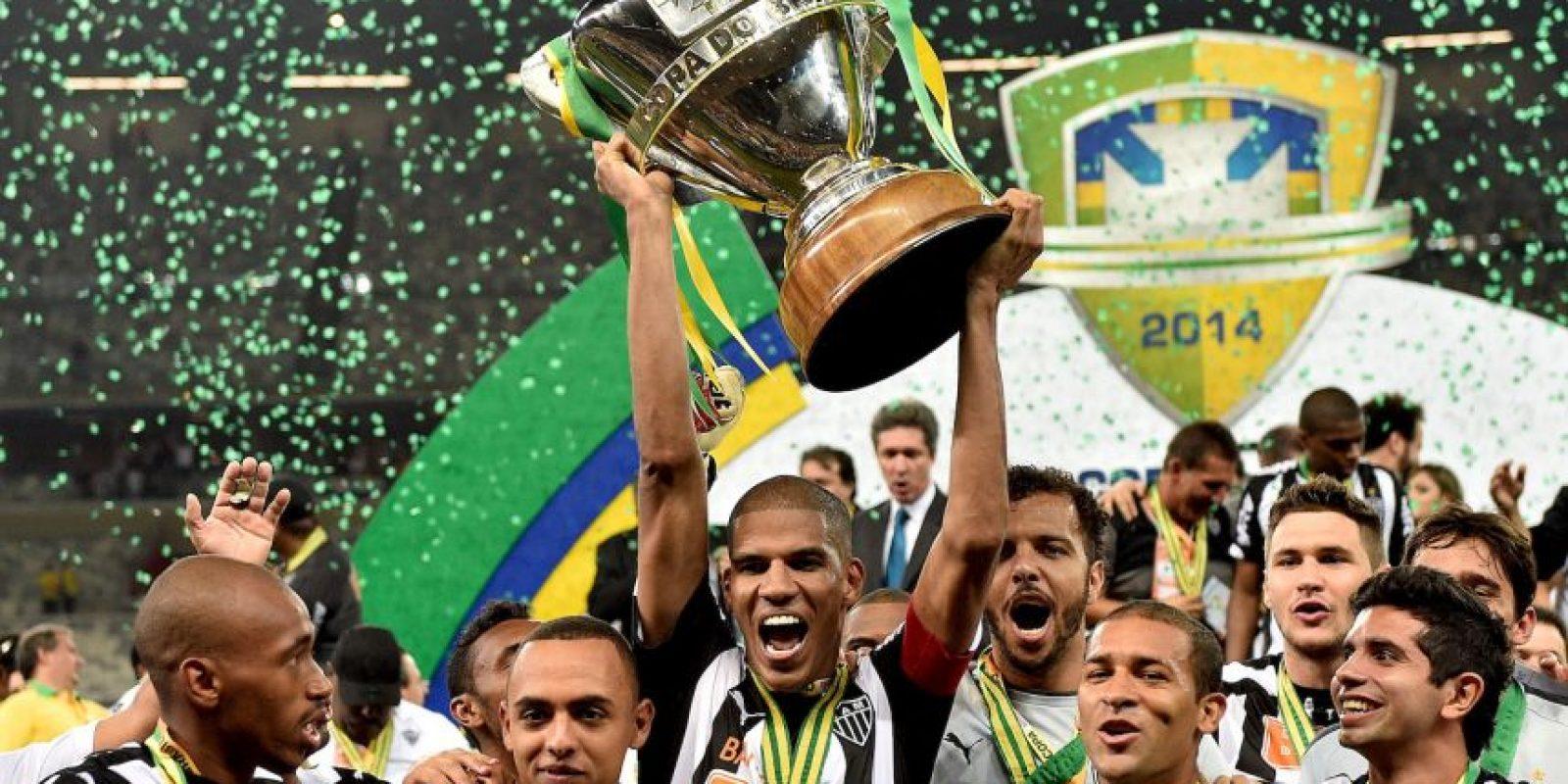 """El """"Gallo"""" fue campeón de la Libertadores en 2013 y ganó la Recopa en 2014 Foto:Getty Images"""