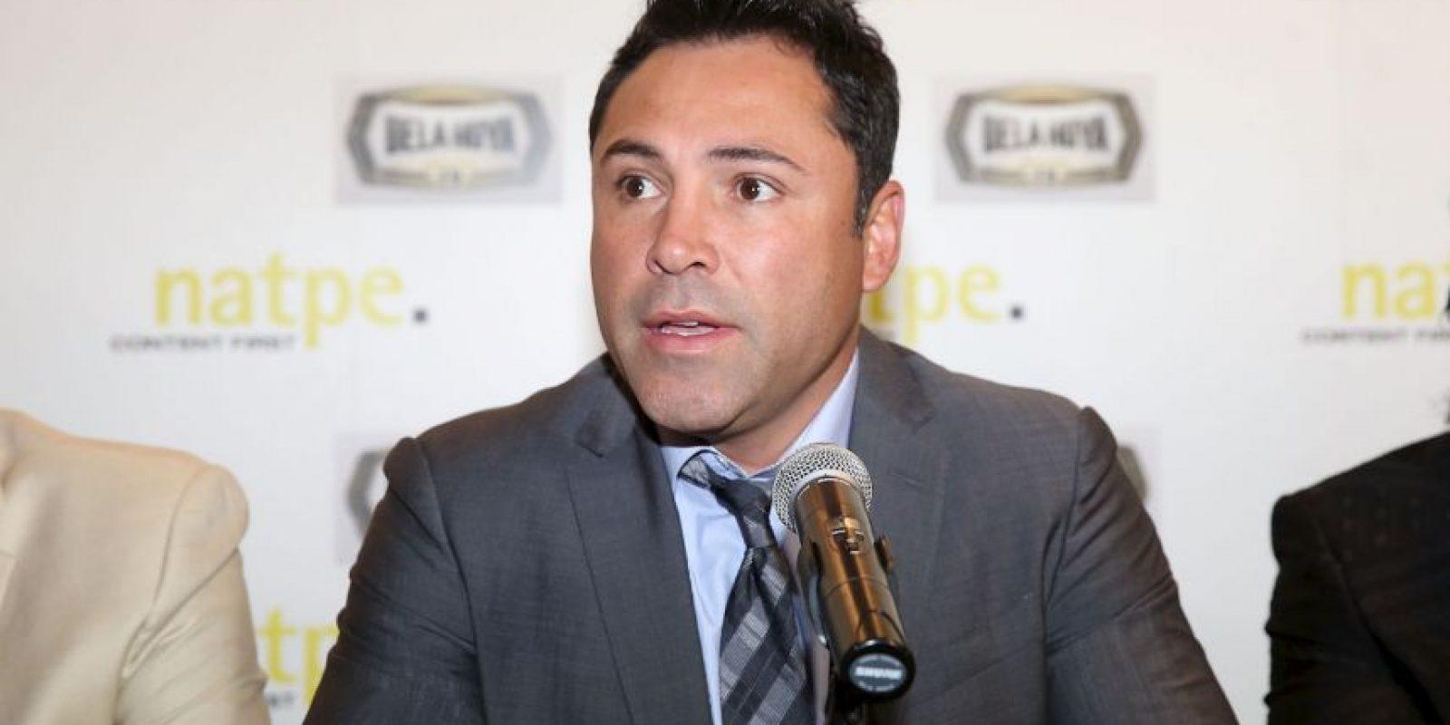 El ahora promotor pidió disculpas a los aficionados del boxeo Foto:Getty Images