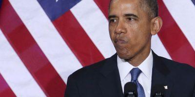 """En su libro """"Sueños de mi padre"""", el presidente habla detalladamente de su hábito Foto:Getty Images"""