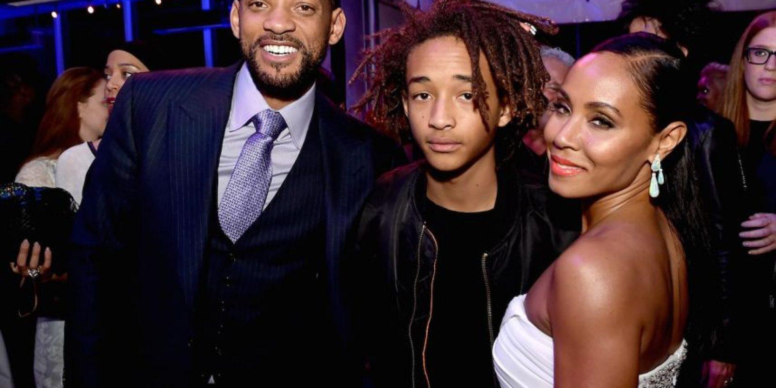 Jaden Smith es hijo de los actores Will Smith y Jada Pinkett Smith Foto:Getty Images