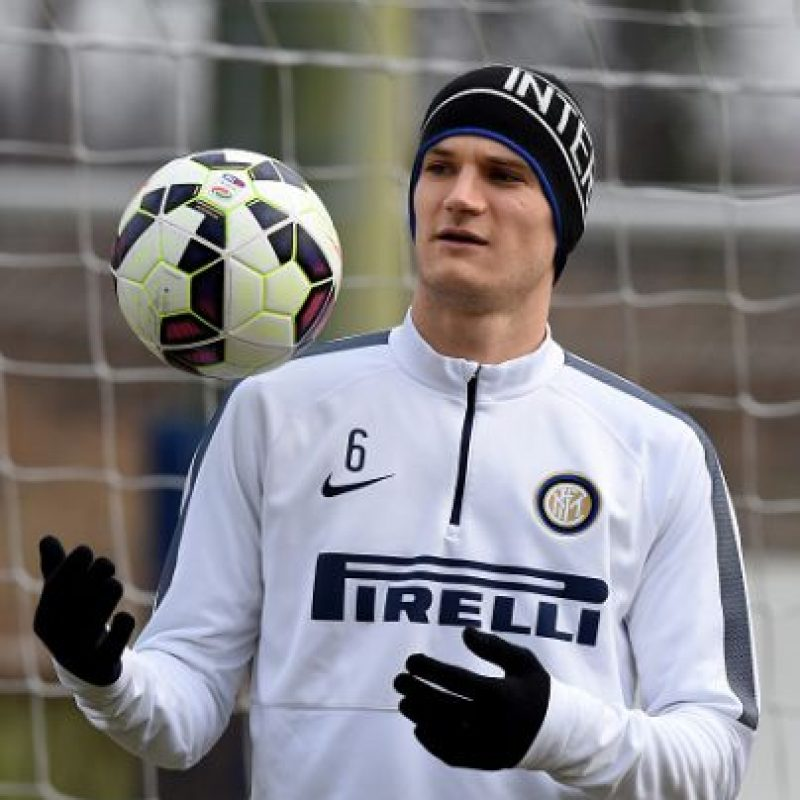 2. Marco Andreolli (Inter de Milán) Foto: Getty Images
