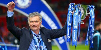 """Sin embargo, en 2015 se """"desquitó"""" al llevarse la Capital One Cup (Copa de la Liga Inglesa) y la Premier League. La Champions League sigue siendo su asignatura pendiente con el conjunto blue. Foto:Getty Images"""