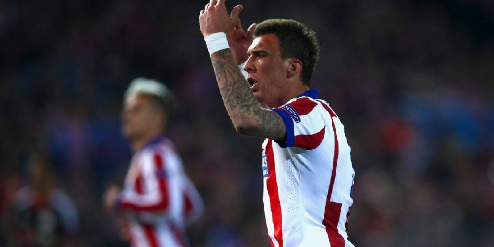 Junto al croata Mario Mandzukic Foto: Getty Images