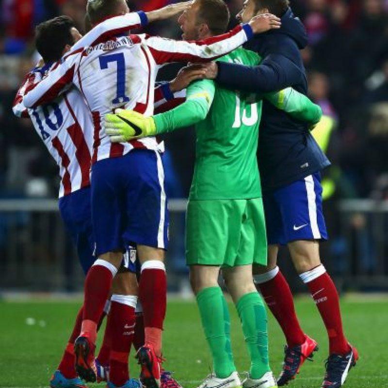 """Los """"colchoneros"""" vencieron en penales al Bayer Leverkusen Foto:Getty Images"""