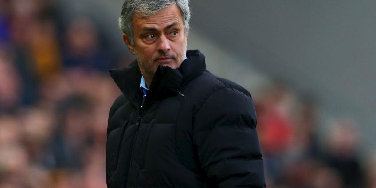 """En 2013, """"Mou"""" comenzó a dirigir su segunda etapa al frente de Chelsea, tras haberlo hecho de 2004 a 2007. Foto:Getty Images"""