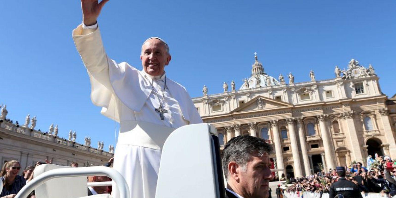 Fue elegido el 13 de marzo, como jefe de Estado de la ciudad del Vaticano. Foto:Getty Images
