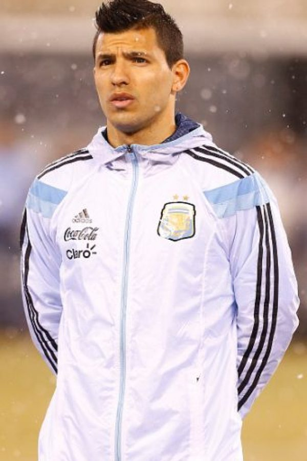 Sergio Agüero (Manchester City, Inglaterra) Foto: Getty Images