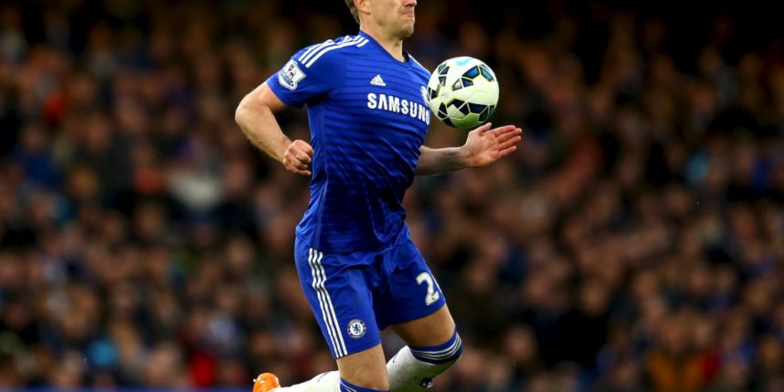 La defensa estaría formada por John Terry (Chelsea) Foto: Getty Images
