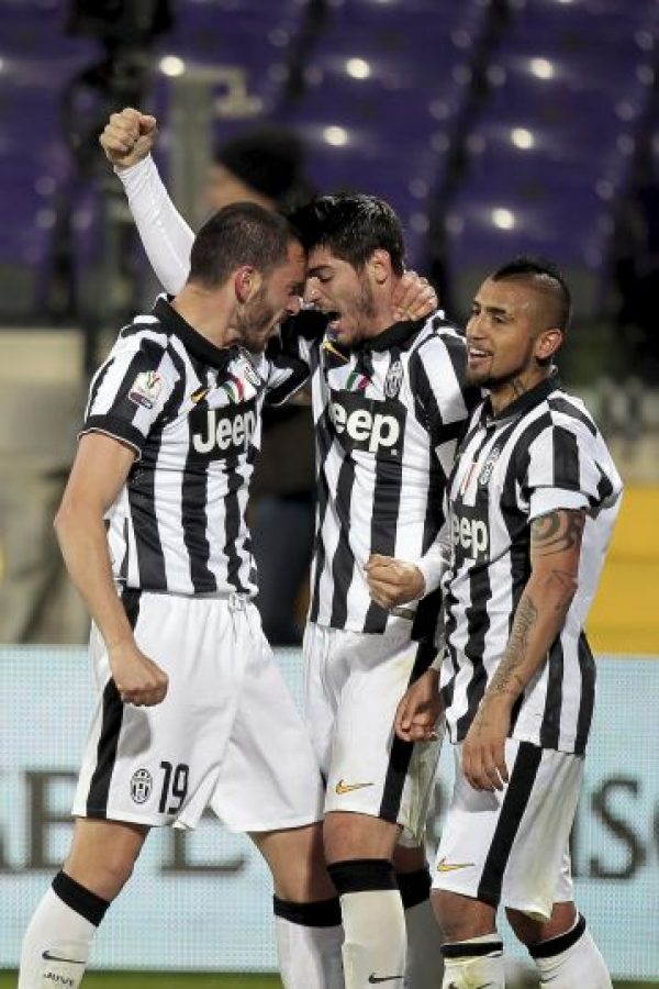 Juventus recibe al club galo Foto:Getty Images