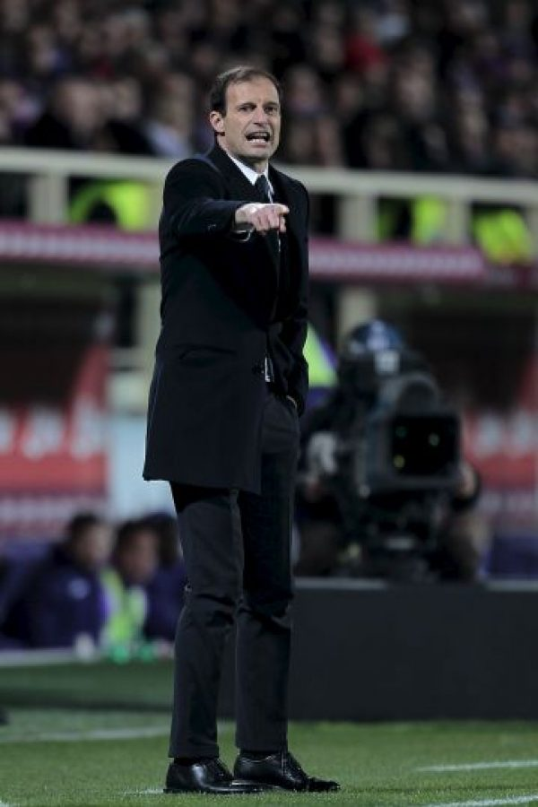 Massimiliano Allegri es el DT de Juventus Foto: Getty Images