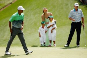 Ella iba a los campos de golf Foto: Getty Images