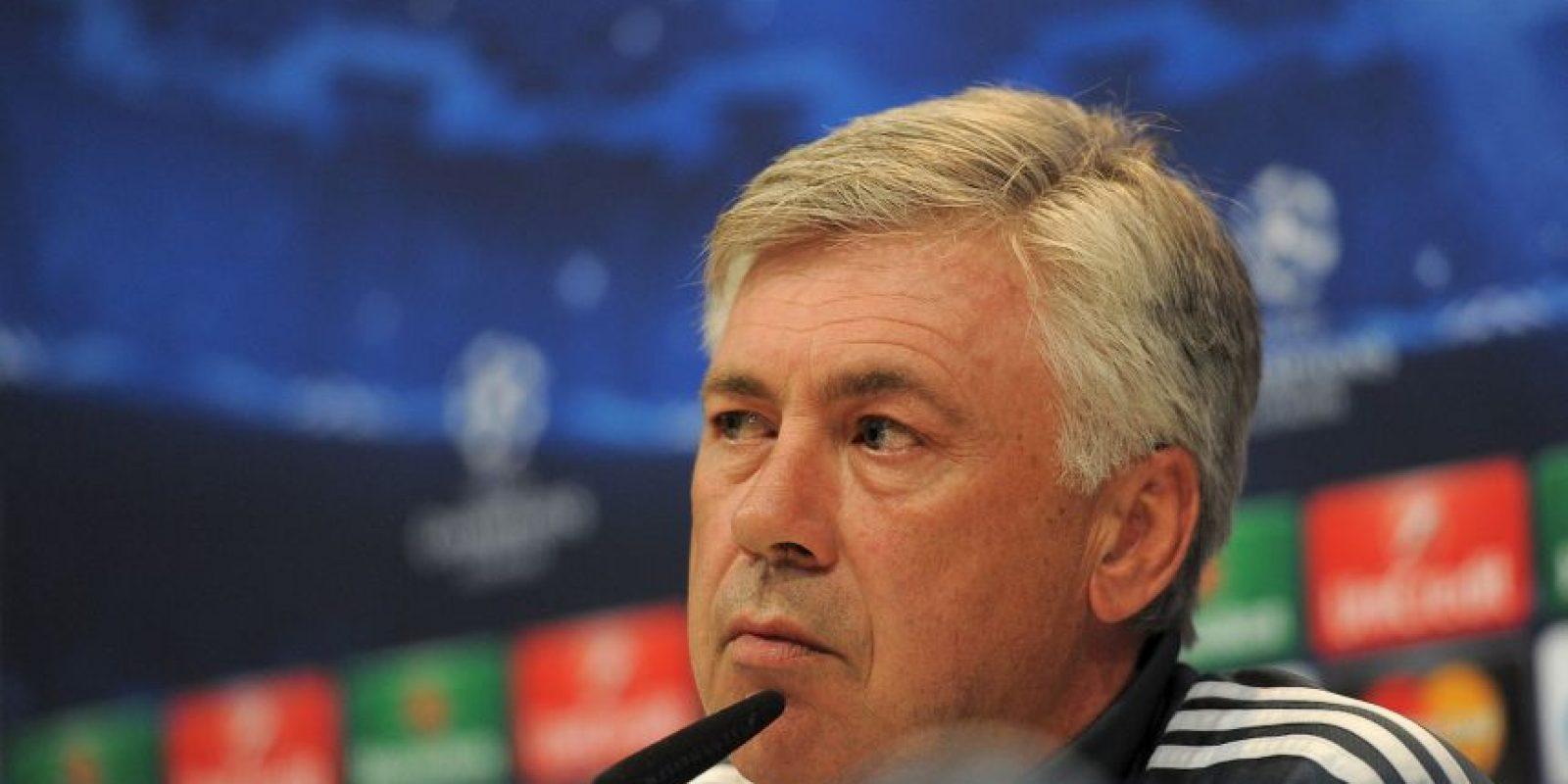 El DT Carlo Ancelotti es el monarca de Europa Foto:Getty Images