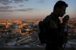 Octubre de 2014. ISIS desplegó cerca de 10 mil militares en Mosul, los cuales iban a capturar la capital Bagdad. Foto:Getty Images
