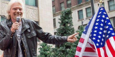 Branson también se ha hecho famoso por sus inspiradoras máximas de crecimiento empresarial. Foto:vía Getty Images