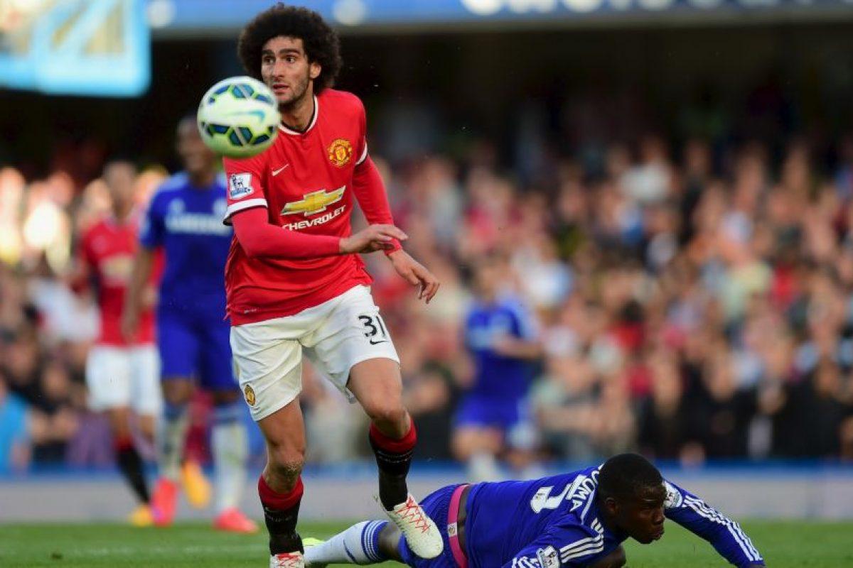 Nació futbolísticamente en el Standard de Lieja de donde pasó a la Premier League para jugar en el Everton. Foto:Getty Images