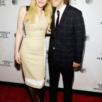 Brett Morgen y Courtney Love aparecieron durante el Festival de Cine de Tribeca Foto: Getty Images
