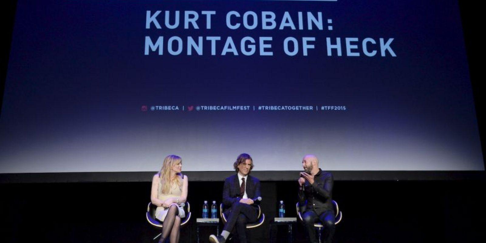 """Presentación de la cinta biográfica """"Kurt Cobain: Montage of Heck"""" Foto:Getty Images"""