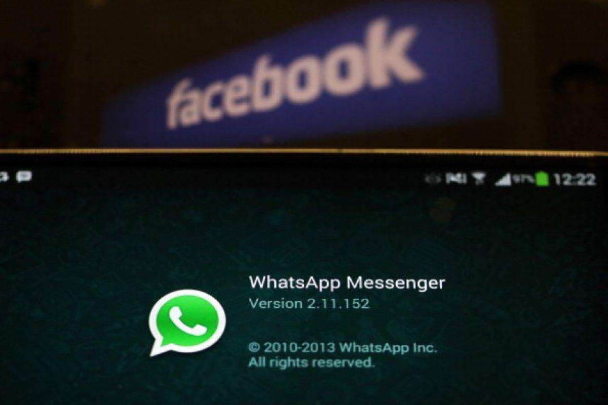 Whatsapp es la aplicación de mensajería instantánea más popular del mundo. Foto:Getty Images