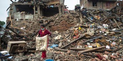 El sismo tuvo lugar a las 11:30 horas Foto:Getty Images