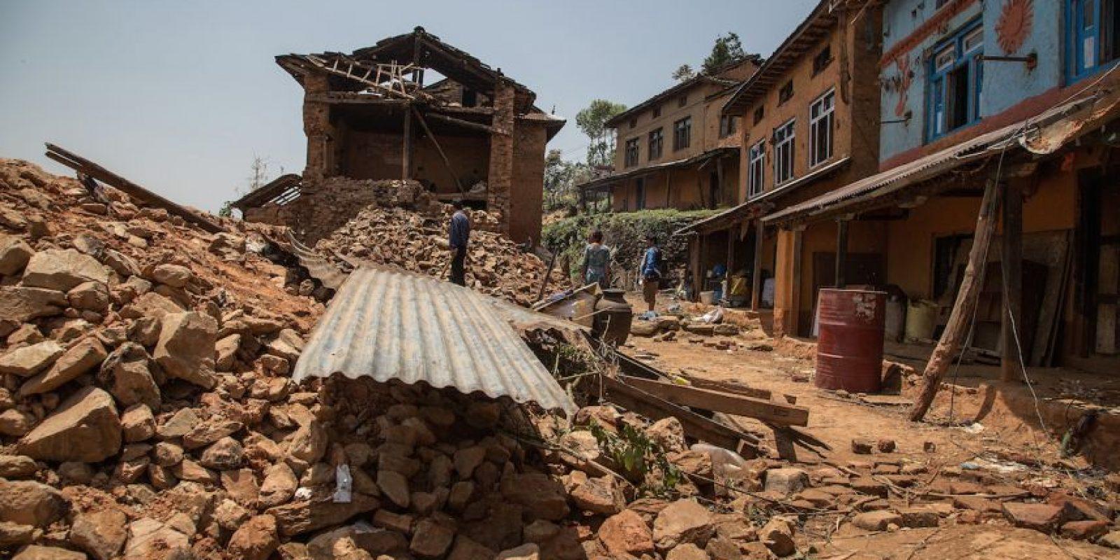 """El Gobierno de Nepal estima que la reconstrucción de Nepal costará unos cinco mil millones de dólares. El periódico español """"El Mundo"""" detalló que la reconstrucción equivale al 20% del Producto Interno Bruto (PIB) de Nepal. Foto:Getty Images"""