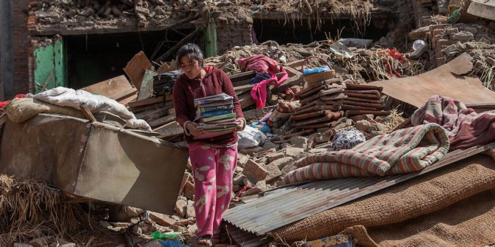 """Según el medio británico """"BBC"""", por tradición, los nepalíes no entierran a sus muertos, ya que creen en la reencarnación. Foto:Getty Images"""