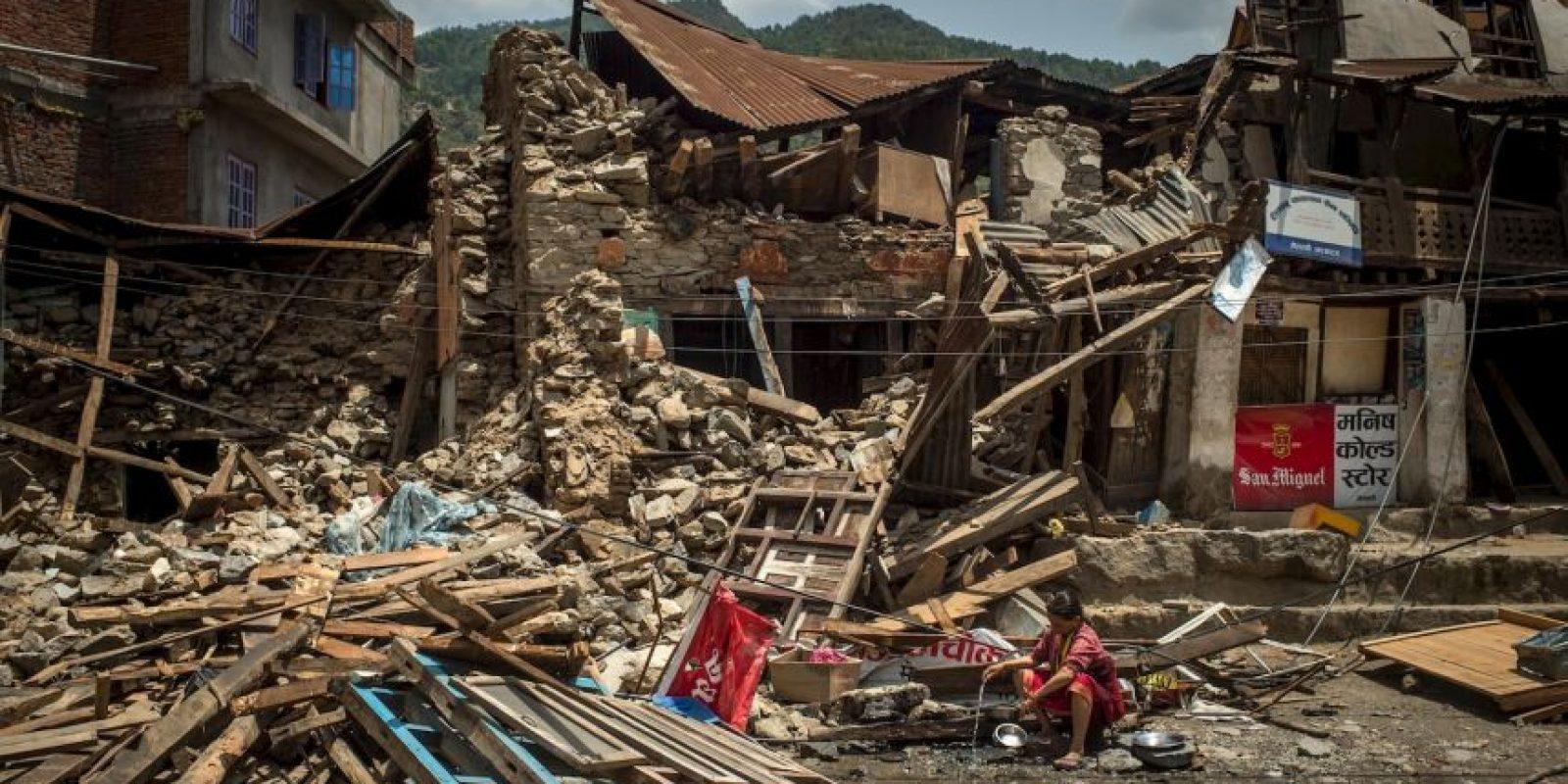 Tuvo una magnitud de 7.8 grados en escala de Richter. Foto:Getty Images