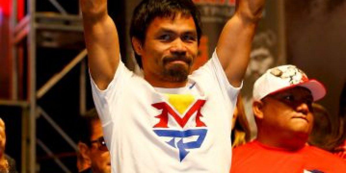 El gran sacrificio que harán los filipinos para ver pelear a Manny Pacquiao
