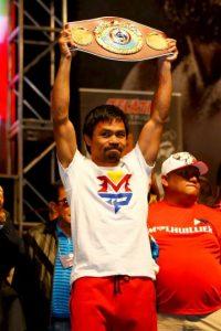 Manny Pacquiao es un ídolo en Filipinas. Foto:Getty Images