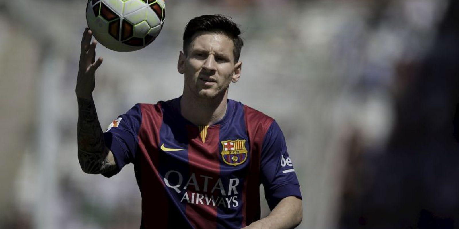 Lionel Messi tiene 40 dianas Foto:Getty Images