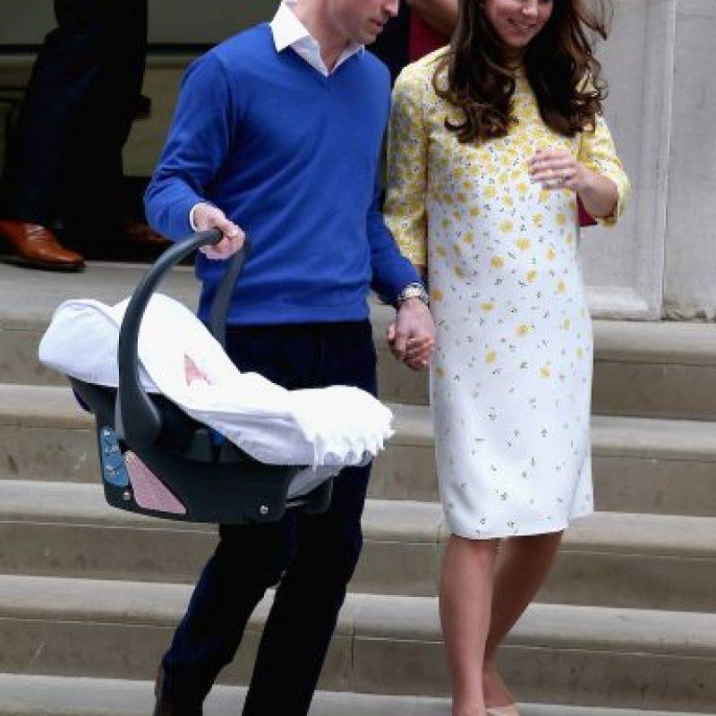 Esto luego de que tomara una licensia por el nacimiento de la princesa Charlotte. Foto:Getty Images