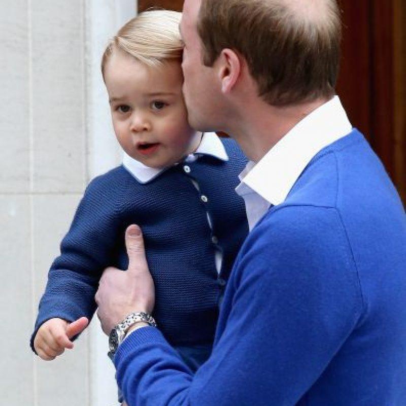 Su hijo mayor es el príncipe George, de dos años. Foto:Getty Images