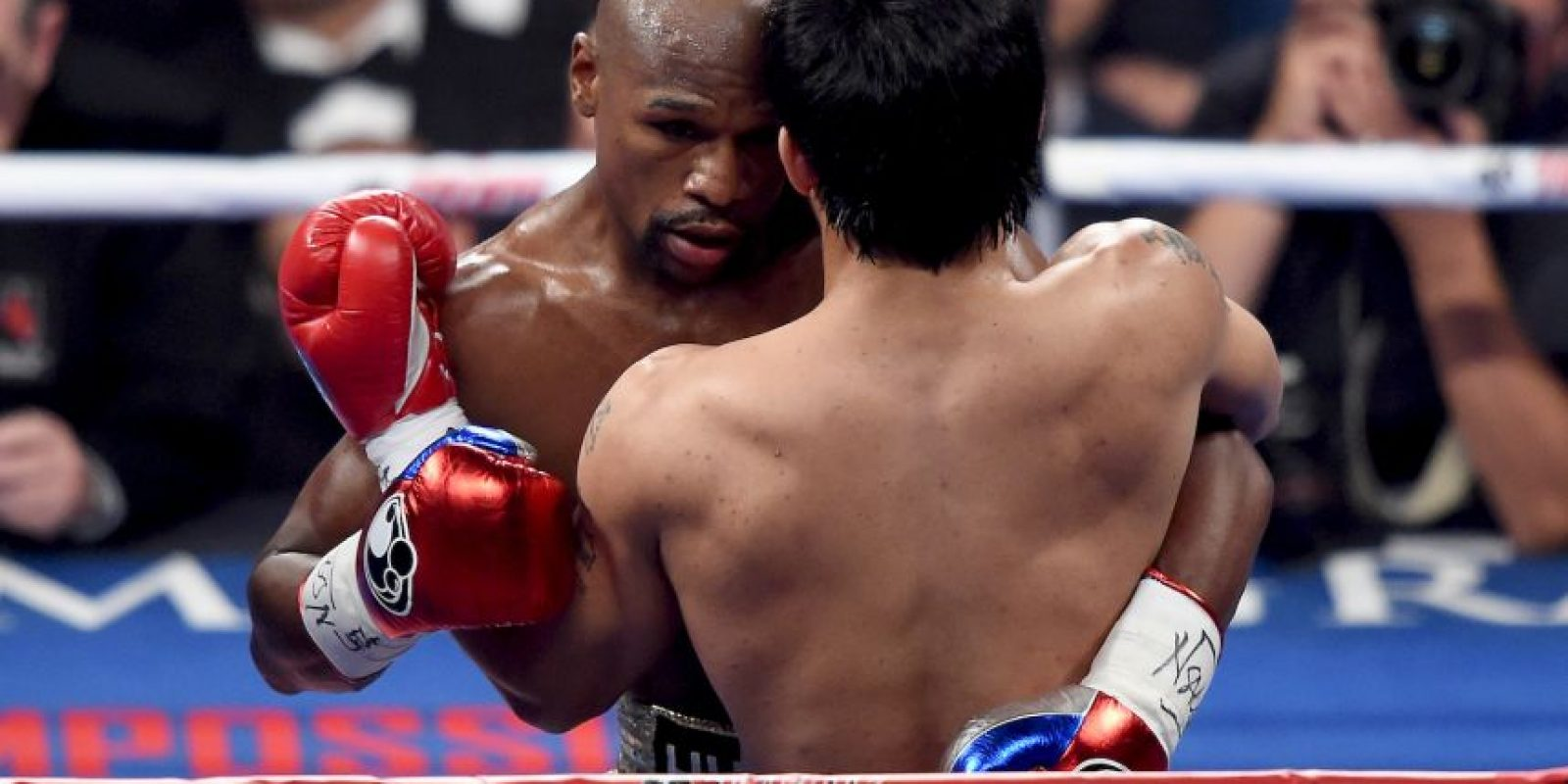 El combate llegó a los 12 rounds Foto:Getty Images