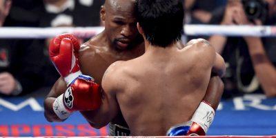 """Mayweather: (Cuestionado sobre si desea romper el récord de Rocky Marciano) Lo voy a ver en septiembre, a meditarlo, quiero irme ya del boxeo"""". Foto:Getty Images"""
