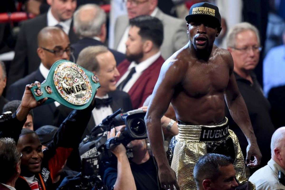 Mayweather sigue invicto Foto:Getty Images