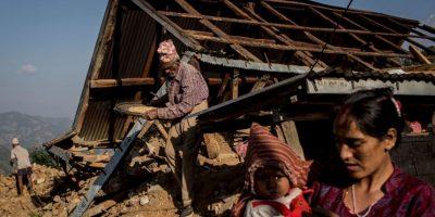 El efecto del movimiento tectónico se sintió en otros lugares como Nueva Dehli, la capital de la India. Foto:Getty Images