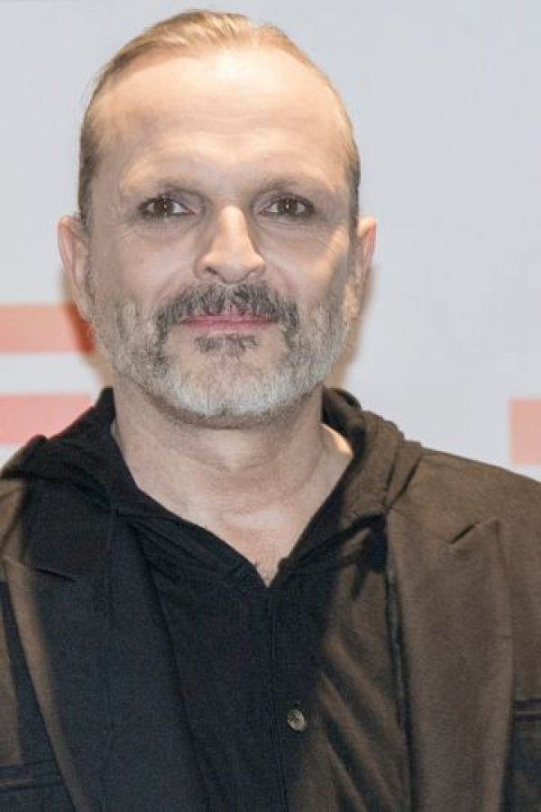 13. Miguel Bosé. Foto: vía Getty Images