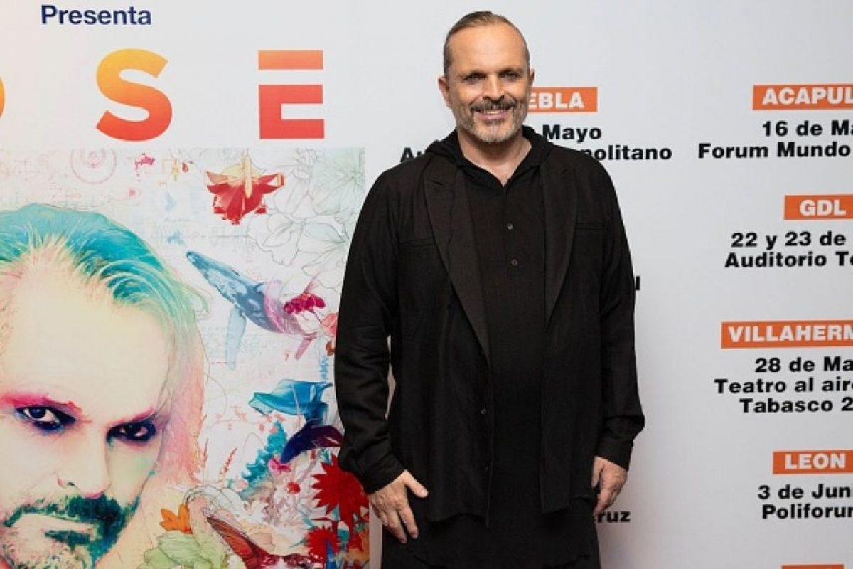 Se llama Luis Miguel González Bosé. Foto:vía Getty Images