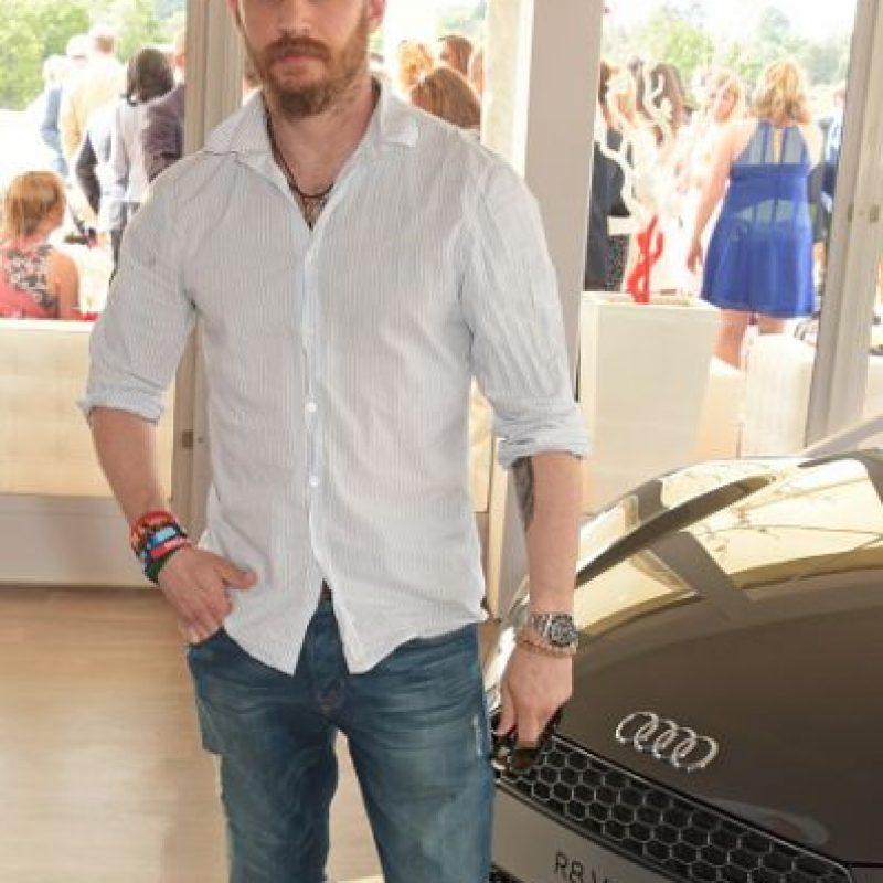 8. El del actor Tom Hardy. Foto:vía Getty Images