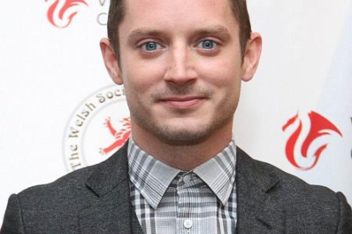 """Fue famoso por interpretar a """"Frodo Bolson"""" en """"El Señor de los Anillos"""" y ahora se dedica al cine independiente. Foto:vía Getty Images"""