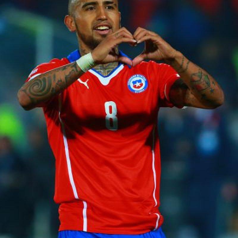"""""""La Roja"""" se impuso 2-0 a los ecuatorianos. Foto:Getty Images"""