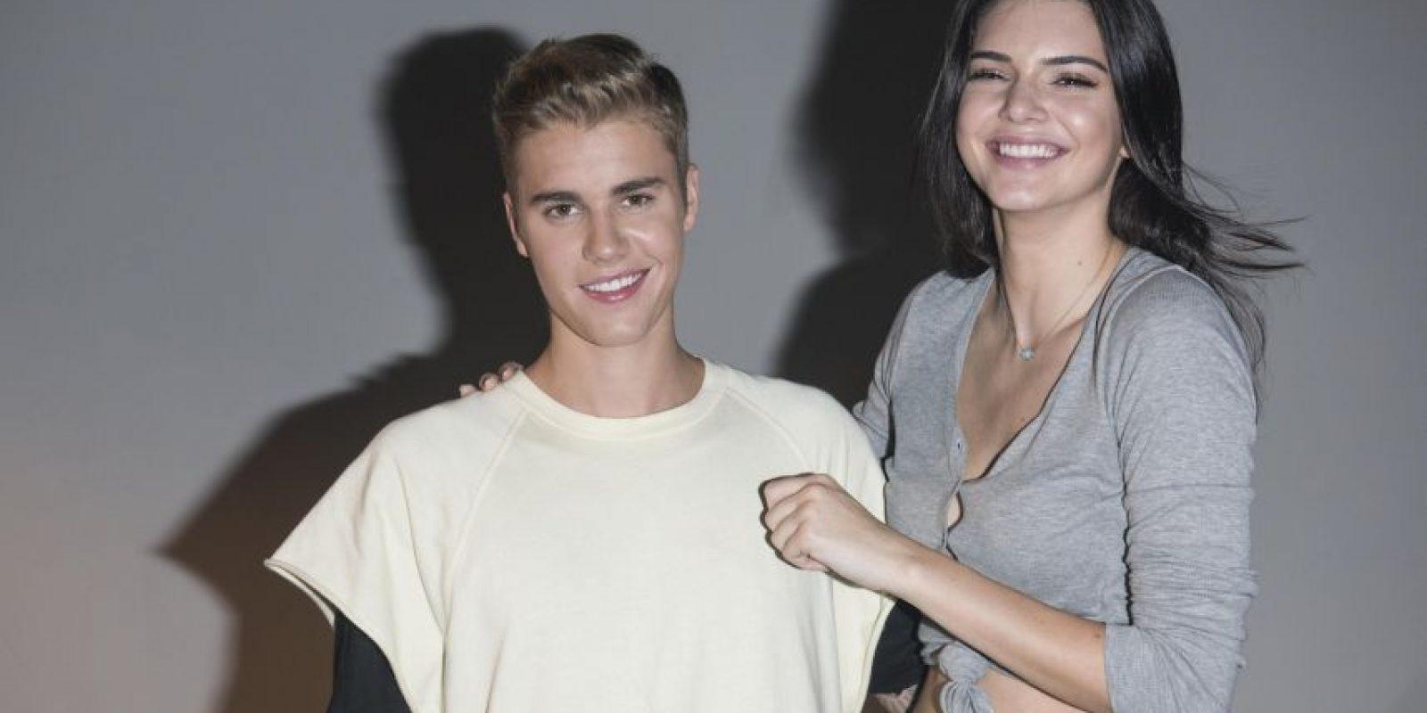 Justin Bieber y Kendall Jenner coincidieron en la alfombra roja de Calvin Klein de Hong Kong Foto:Getty Images