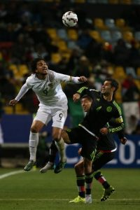 Debutó en Chile 2015 frente a Bolivia. Foto: Getty Images