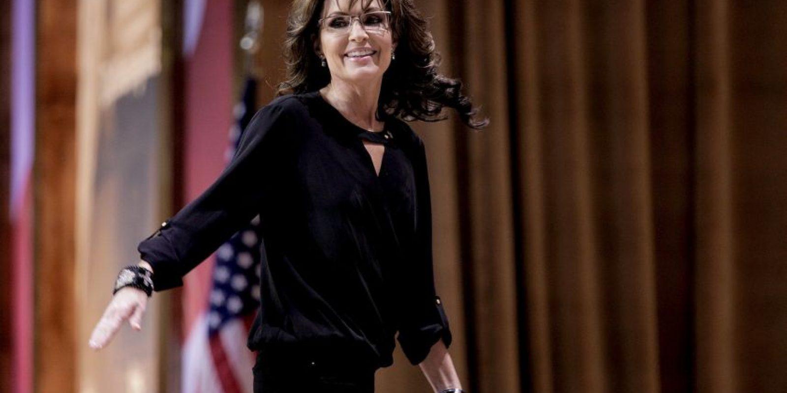 La excandidata a la vicepresidencia de Estados Unidos también aseguró haber tenido un encuentro cercano con la droga. Foto:Getty Images