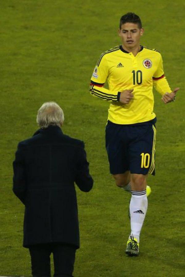 El jugador del Real Madrid intentó que los ánimos del brasileño se calmaran. Foto:Getty Images