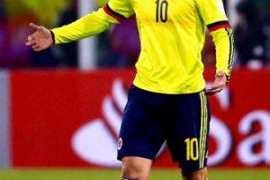 Por ello, James Rodríguez trató de tranquilizarlo. Foto:Getty Images
