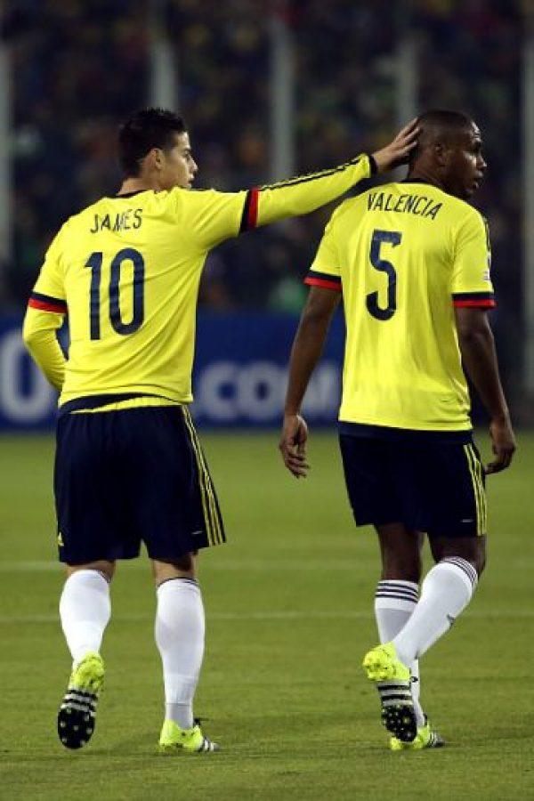 A final de cuentas, James y Colombia salieron contres puntos vitales. Foto:Getty Images