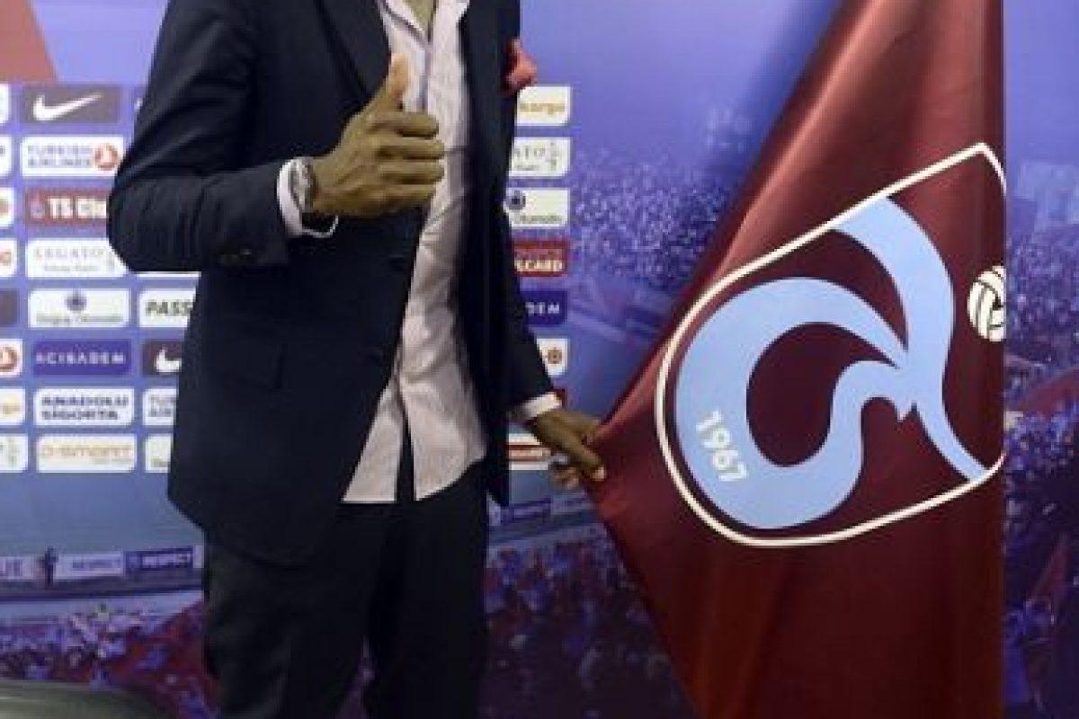Dejó al campeón de la Europa League, Sevilla, para ir al Trabzonspor de Turquía. Foto:Getty Images